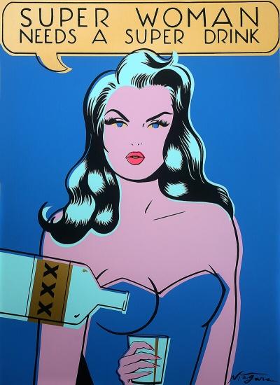 Super Woman Needs a Super Drink